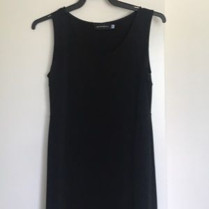 Lovely sleeveless comfy black dress